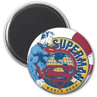 Superman - World Hero Magnet