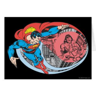 Superman X-Ray Vision Card