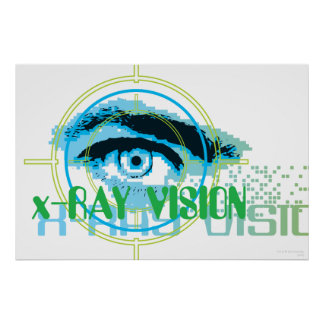 Superman Xray Vision Print