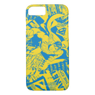 Superman Yellow and Blue iPhone 8/7 Case