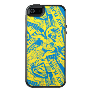 Superman Yellow and Blue OtterBox iPhone 5/5s/SE Case