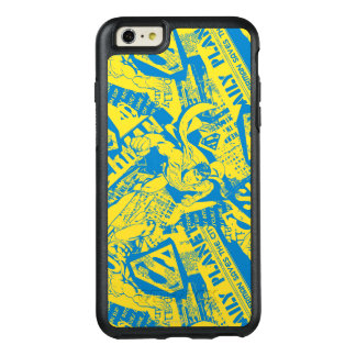 Superman Yellow and Blue OtterBox iPhone 6/6s Plus Case