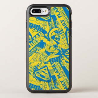Superman Yellow and Blue OtterBox Symmetry iPhone 8 Plus/7 Plus Case