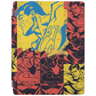 Superman Yellow and Red iPad Cover