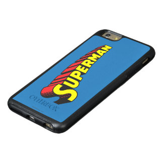 Superman | Yellow Red Letters Logo OtterBox iPhone 6/6s Plus Case
