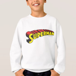 Superman | Yellow Red Letters Logo Sweatshirt