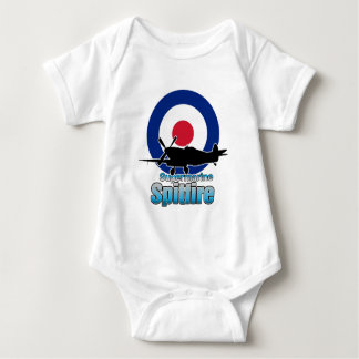 Supermarine Spitfire Baby Bodysuit