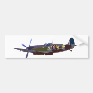 Supermarine Spitfire Bumper Sticker