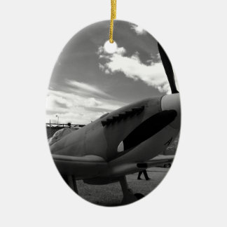 Supermarine Spitfire Christmas Ornament