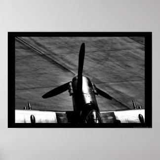 Supermarine Spitfire Engine Poster