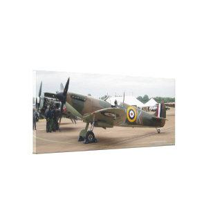 Supermarine Spitfire MK.IIa BBMF Canvas Gallery Wrap Canvas