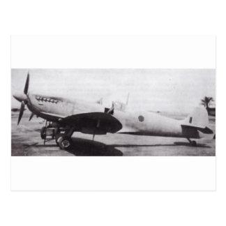 Supermarine Spitfire Postcard