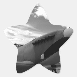 Supermarine Spitfire Star Sticker