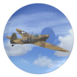 Supermarine Spitfire VB Plane Plate