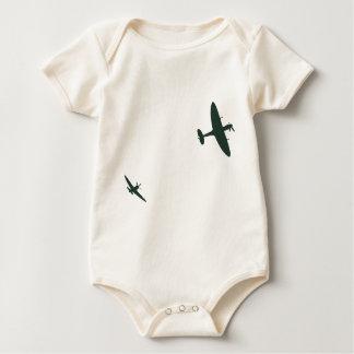 Supermarine Spitfires Baby Bodysuit
