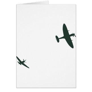 Supermarine Spitfires Card
