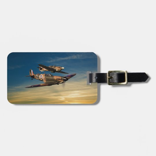 Supermarine Spitfires Luggage Tag