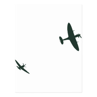 Supermarine Spitfires Postcard