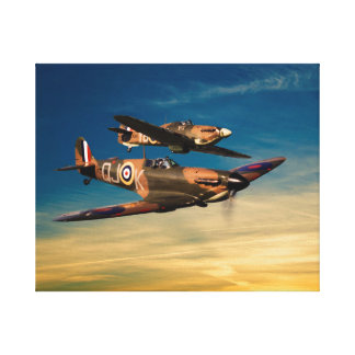 Supermarines Canvas Print