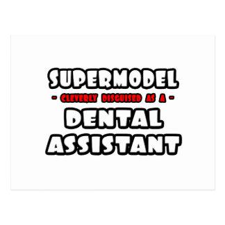 Supermodel .. Dental Assistant Post Card