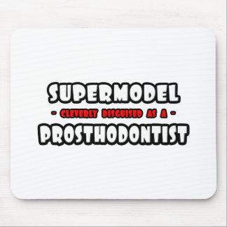 Supermodel .. Prosthodontist Mousepads
