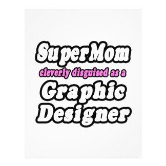 SuperMom...Graphic Designer Full Color Flyer