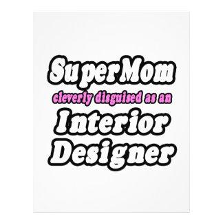 SuperMom...Interior Designer 21.5 Cm X 28 Cm Flyer