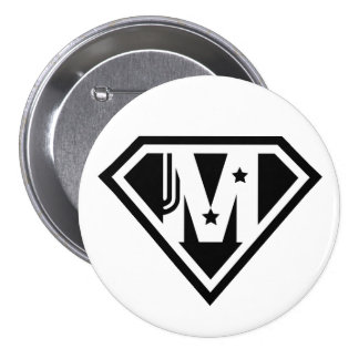 Supermom Mother's Day Round Button