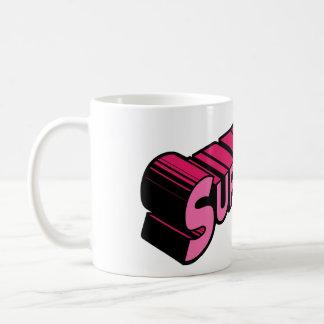 Supermom Mug-Pink Coffee Mug