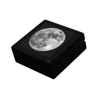 Supermoon Moon Keepsake Box