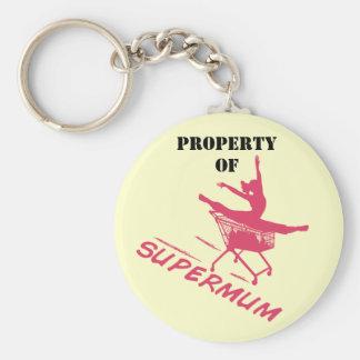 Supermum Keychain