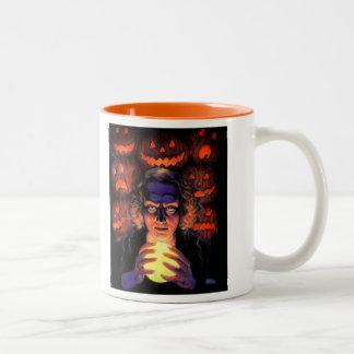 Supernatural Halloween Fortuneteller Witch Mug