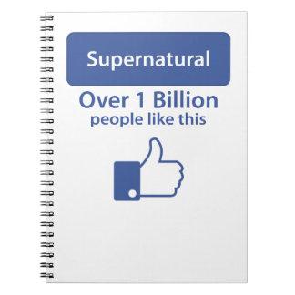 Supernatural Spiral Note Book