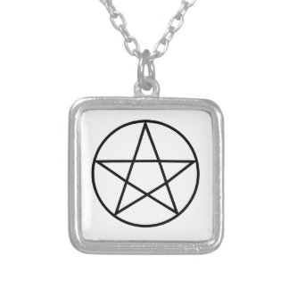 Supernatural Symbol Series #4 Silver Plated Necklace