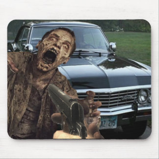 Supernatural Zombie Shooter Mouse pad