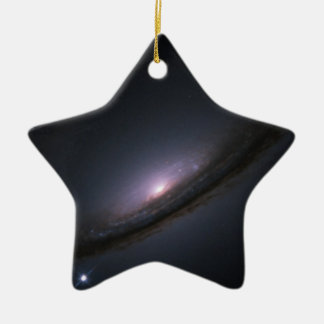 Supernova 1994D disk galaxy NASA Christmas Ornament