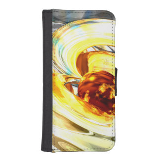 Supernova Abstract iPhone SE/5/5s Wallet Case