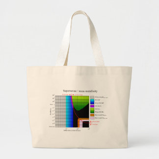Supernova Initial Mass Metallicity Diagram Bags
