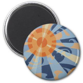 SUPERNOVA magnet (round) 2 Inch Round Magnet
