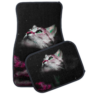 Supernova of the Ethereal Cat Car Mat