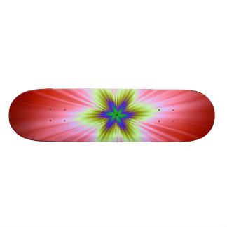 Supernova on Red Skateboard