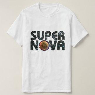 Supernova Photo Background Text T-Shirt