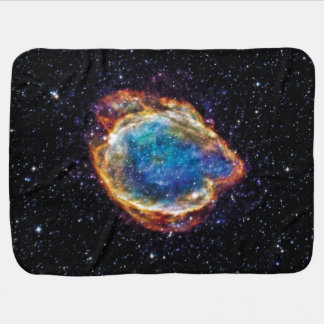 Supernova Remnant G299.2-2.9 NASA Space Photo Baby Blanket