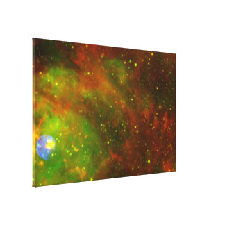 Supernova Remnant N 63A Gallery Wrapped Canvas
