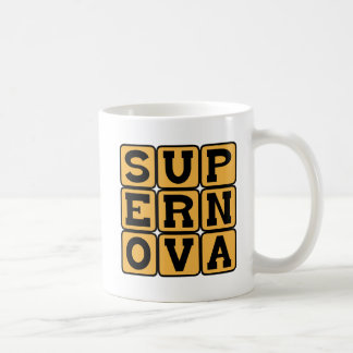 Supernova, Stellar Explosion Basic White Mug