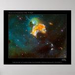 SupernovaRemnant-LMC-N63A-2005-15 Posters