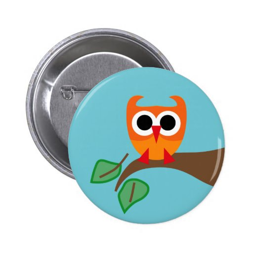 SuperOwl4 Pinback Buttons