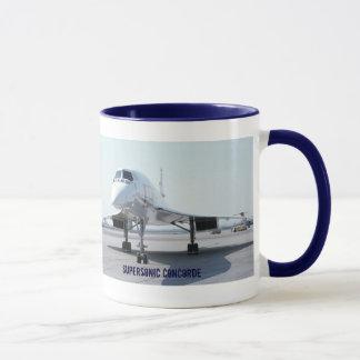 Supersonic Concorde Mug