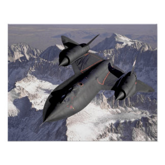 Supersonic Fighter Jet Poster