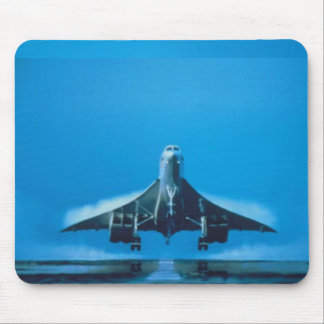 supersonic transport concord mouse mat